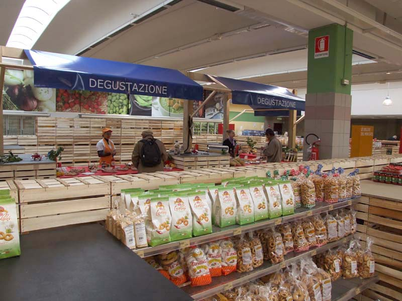allestimenti supermercato