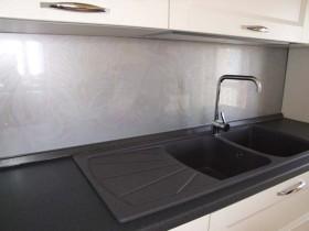 Plexiglass decorato - Pannello paraschizzi cucina ...