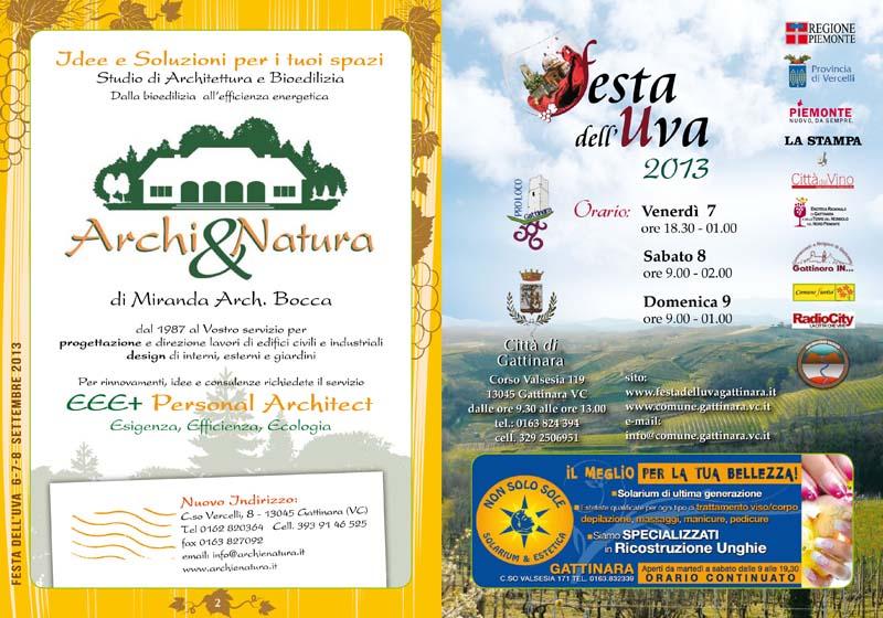 Libretto Festa dell'Uva
