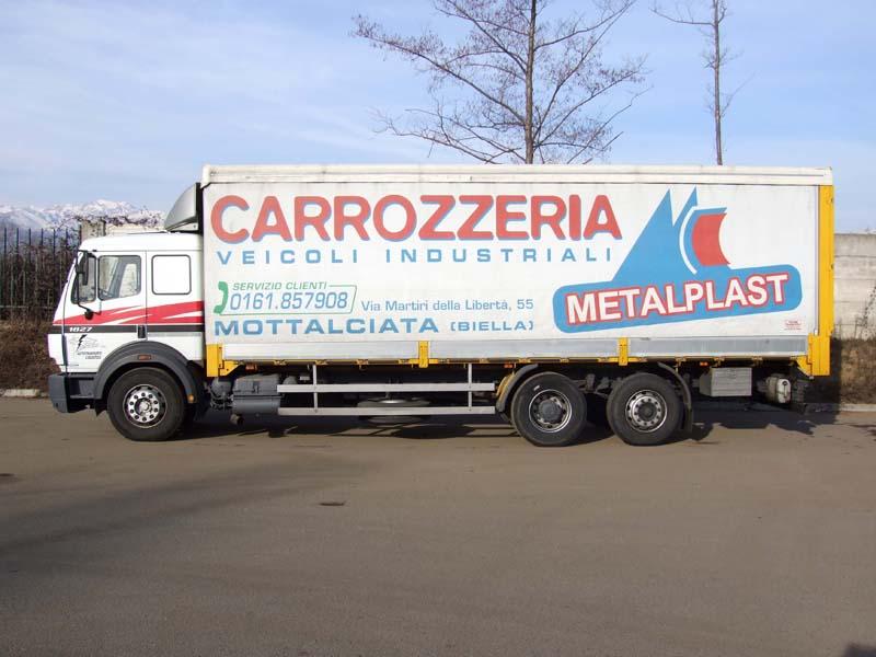 Decorazione telone camion