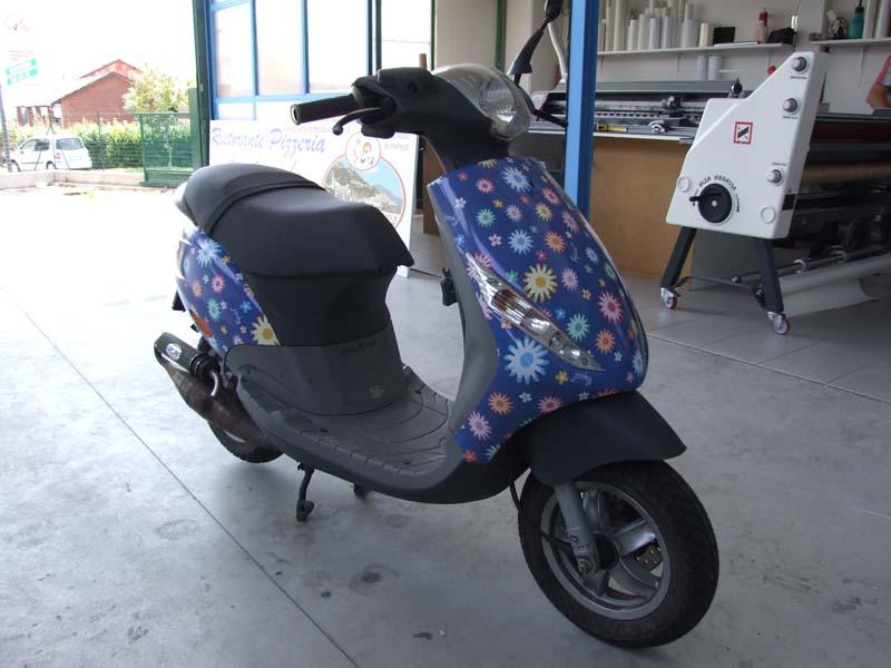 Decorazione scooter