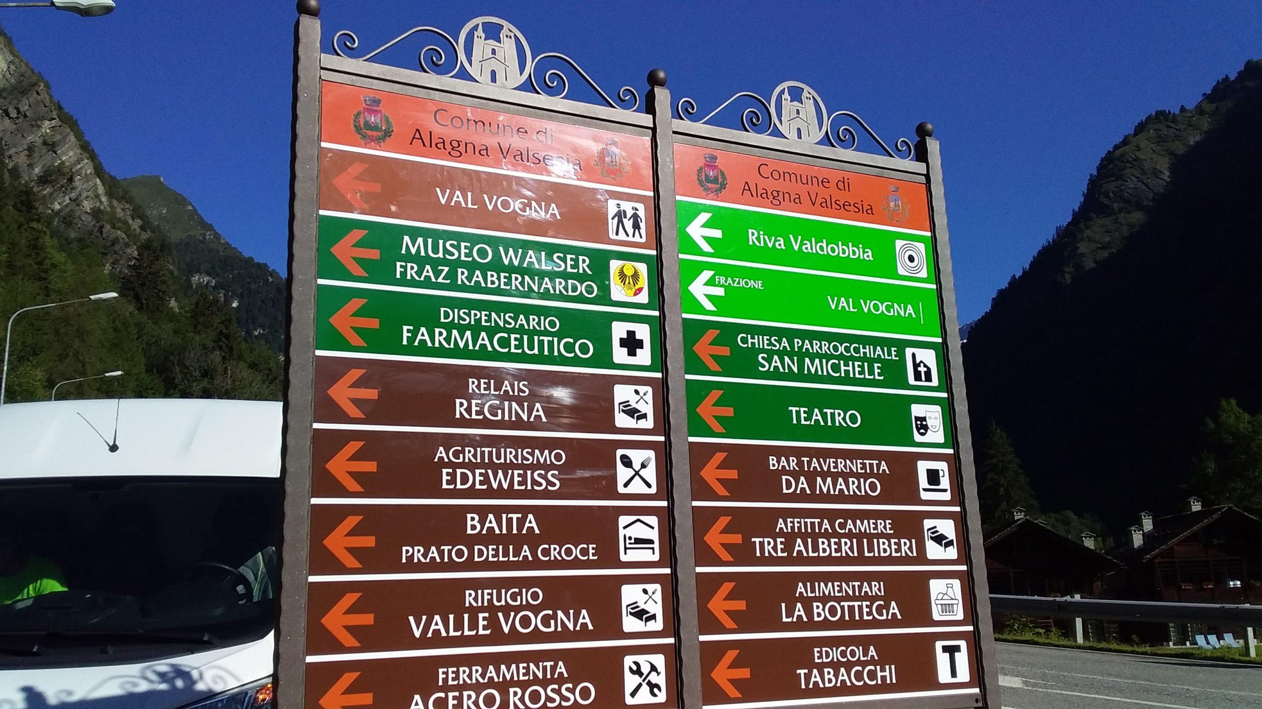 Cartelli turistici
